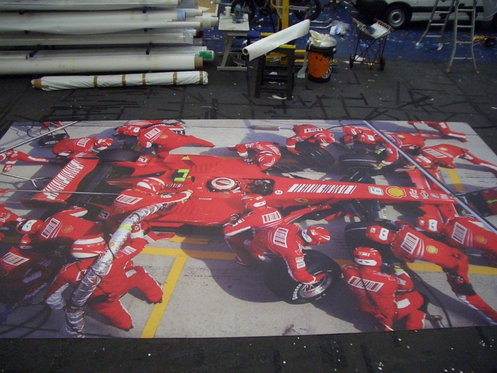 Floor graphics floor decals point of sale promotions for Floor graphics