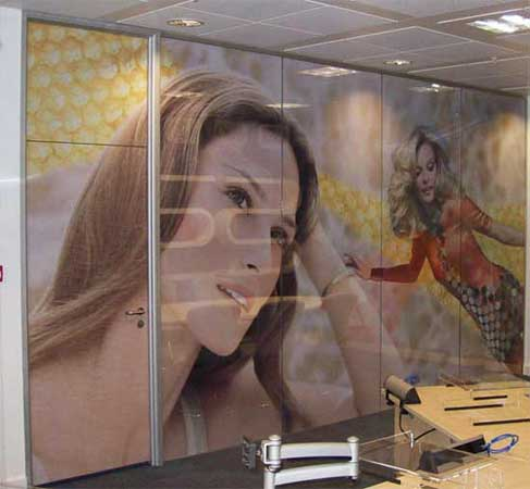 One Way Vision Printed Glass Project Print Management