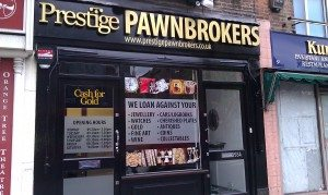 Shop signage and window graphics