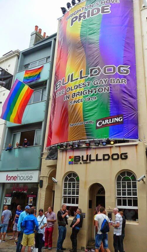 Digitally Printed Backlit Building Wrap Banner In Brighton