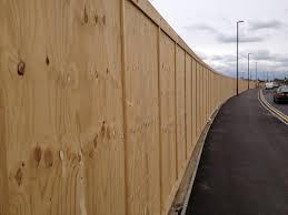 plywood hoarding