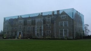 Loseley House building wrap